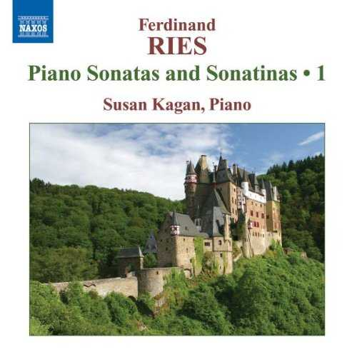 Kagan: Ries - Piano Sonatas and Sonatinas vol.1 (FLAC)