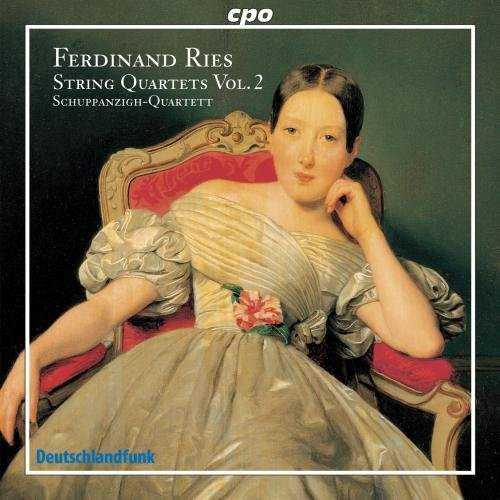 Ferdinand Ries - String Quartets vol.2 (FLAC)