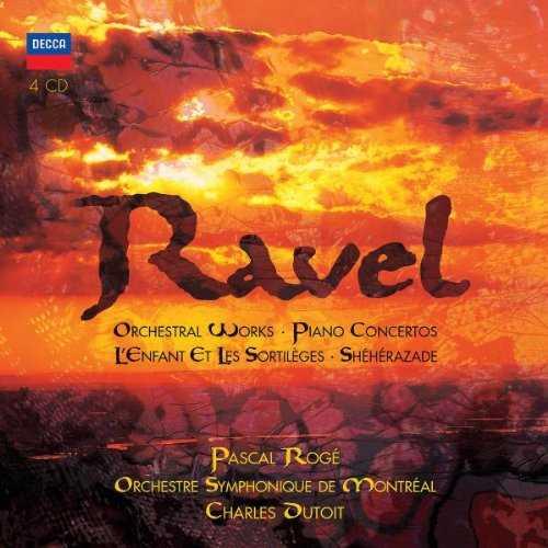 Ravel - Orchestral Works, Piano Concertos, Sheherazade, L'enfant et les Sortileges (4 CD box set, FLAC)