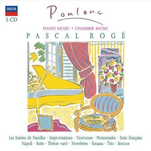 Roge: Poulenc - Chamber Music (5 CD box set, APE)