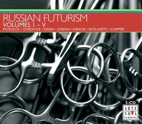 Russian Futurism (5 CD box set, FLAC)