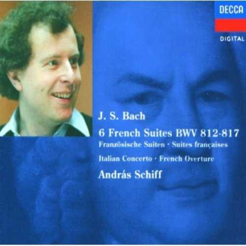Schiff: Bach - 6 French Suites BWV 812-817 (2 CD, FLAC)