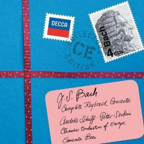Schiff: Bach - Complete Keyboard Concertos (4 CD box set, FLAC)