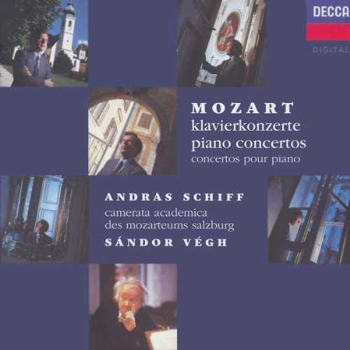 Vegh, Schiff: Mozart - Piano Concertos (9 CD box set, FLAC)