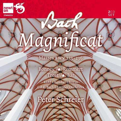 Schreier: Bach - Magnificat, Masses (2 CD, APE)