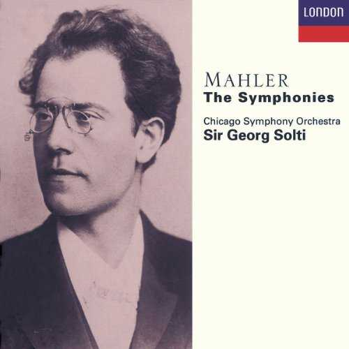 Solti: Mahler - The Symphonies (10 CD box set, FLAC)