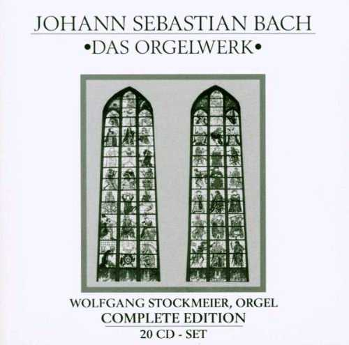 Stockmeier: Bach - Das Orgelwerk, Complete Edition (20 CD box set, WV)