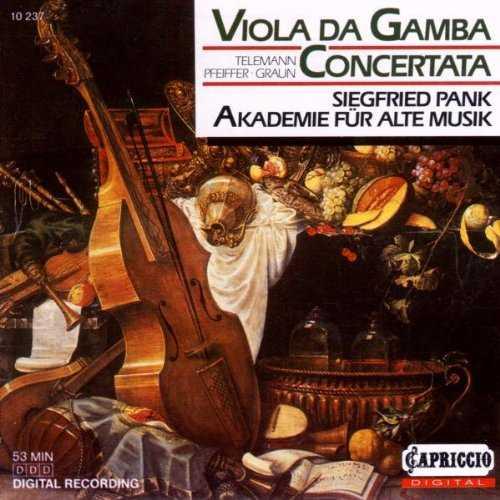 Concertos for Viola Da Gamba (APE)