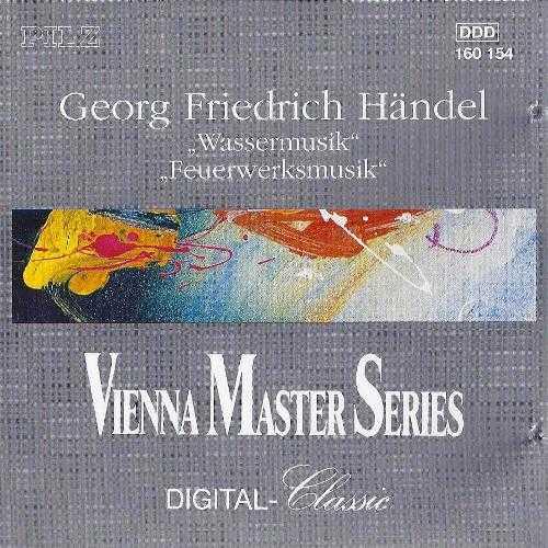 Handel - Water Music Suites, Music for Fireworks (WAV)