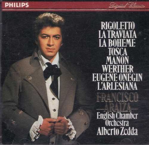 Francisco Araiza - Opera Arias (WAV)