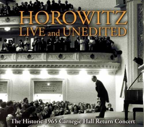 Horowitz Live and Unedited (2 CD+DVD, APE)