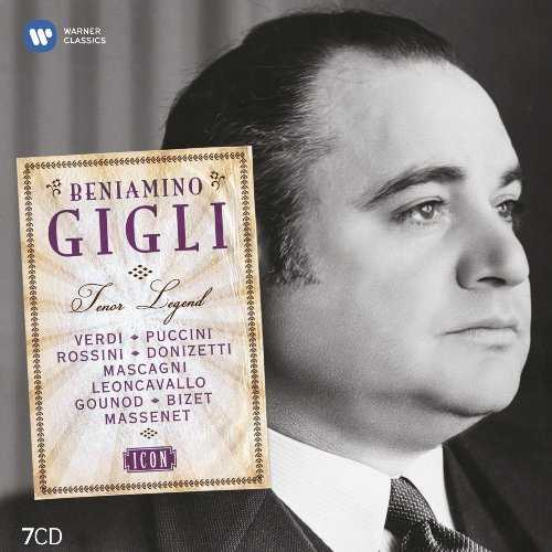 Beniamino Gigli - Tenor Legend (7 CD box set, FLAC)