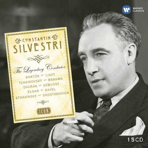 Constantin Silvestri - The Legendary Conductor (15 CD box set, APE)