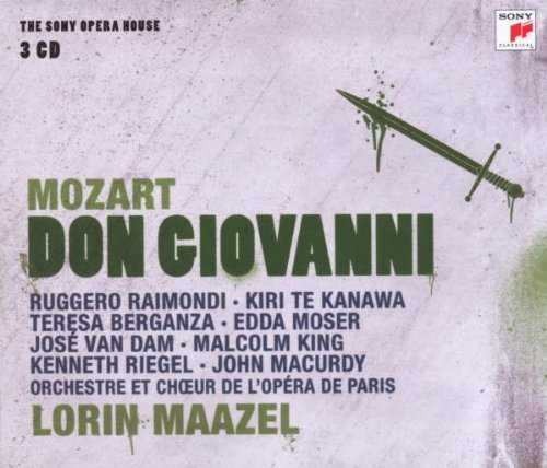 Maazel: Mozart - Don Giovanni (3 CD box set, FLAC)