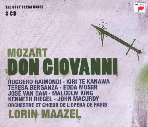 Maazel: Mozart - Don Giovanni (3 CD box set, FLAC)
