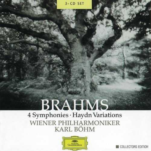 Bohm: Brahms - 4 Symphonies, Haydn Variations (3 CD box set, FLAC)