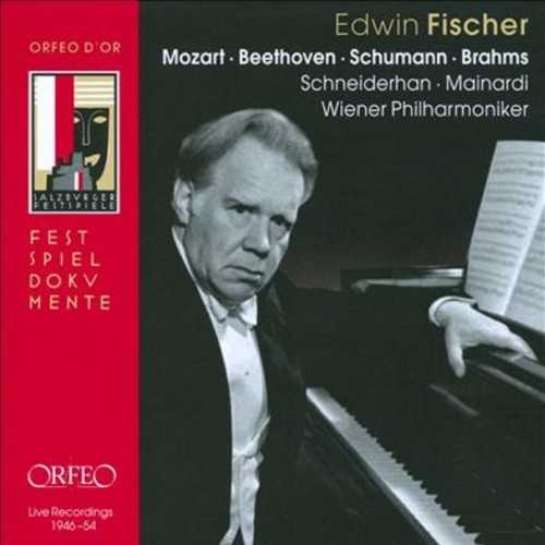 Edwin Fischer - Live Recordings 1946-54 (4 CD box set, FLAC)