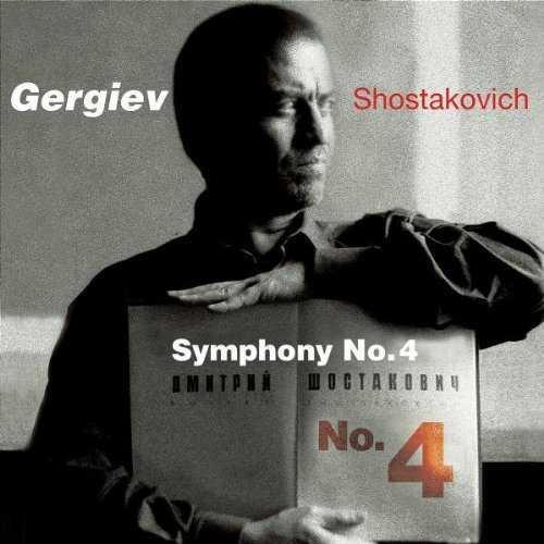 Gergiev: Shostakovich - Symphony no.4 (SACD, ISO)