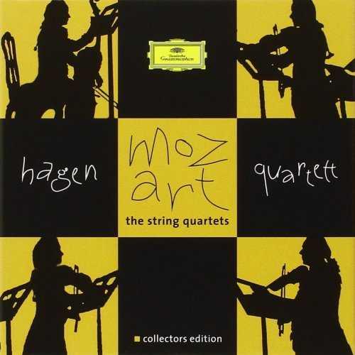 Hagen Quartett: Mozart - The String Quartets (7 CD box set, FLAC)
