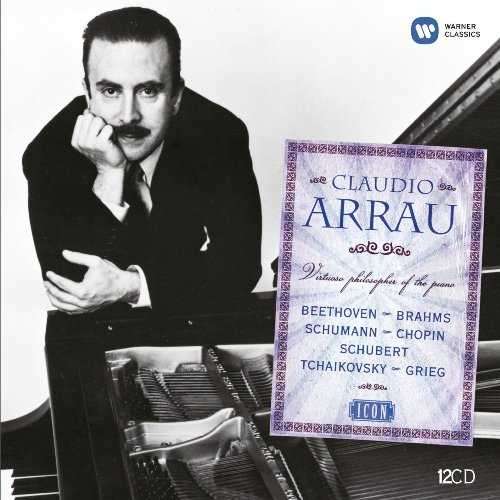 Claudio Arrau - Virtuoso Philosopher Of The Piano (12 CD box set, APE)