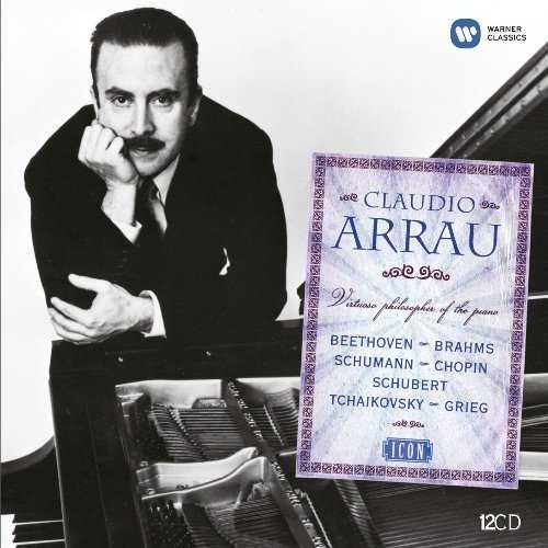 Claudio Arrau - Virtuoso Philosopher Of The Piano (12 CD box set, APE)