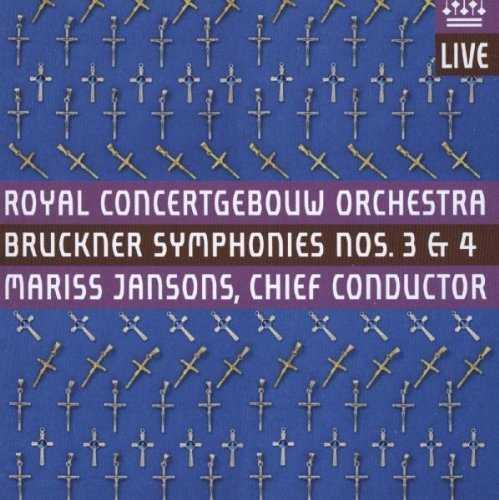Jansons: Bruckner - Symphonies no.3, 4 (2 SACD, ISO)