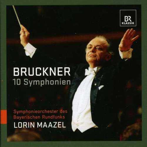 Maazel: Bruckner - 10 Symphonies (11 CD box set, FLAC)