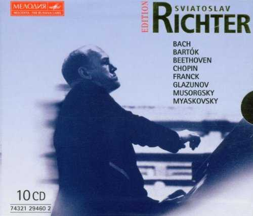 Sviatoslav Richter Melodiya Edition (10 CD box set, APE)