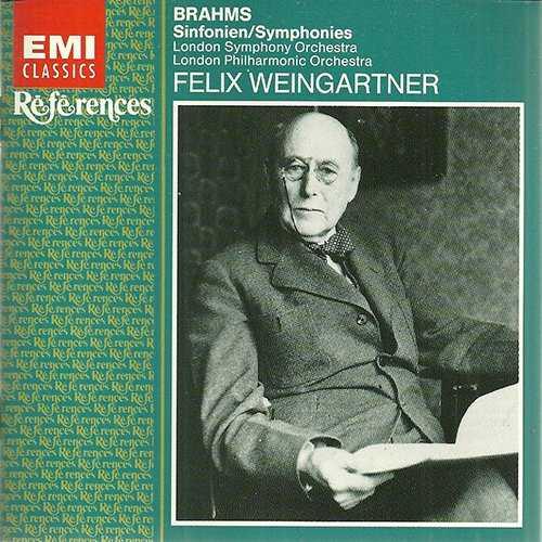 Weingartner: Brahms - Symphonies (2 CD, FLAC)
