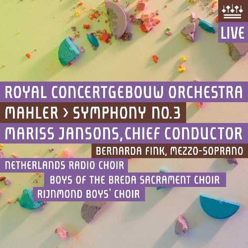 Jansons: Mahler - Symphony no.3 (2 SACD, ISO)