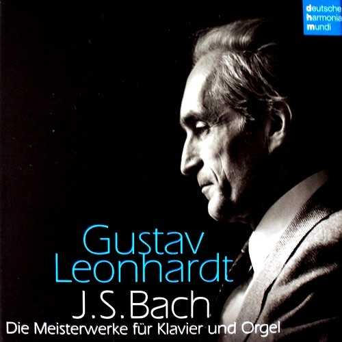 Leonhardt: Bach - Die Meisterwerke Fur Klavier Und Orgel (20 CD box set, FLAC)