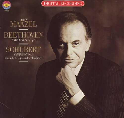 Maazel: Beethoven - Symphony no.5, Schubert - Symphony no.8 (LP, APE)