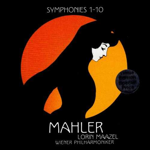 Maazel: Mahler - Symphonies 1-10 (14 CD box set, FLAC)