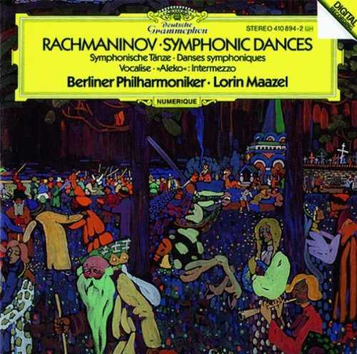 Maazel: Rachmaninov - Symphonic Dances, Vocalise, Aleko Intermezzo (FLAC)