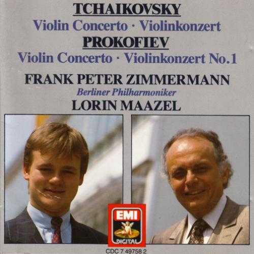 Maazel, Zimmermann: Tchaikovsky, Prokofiev - Violin Concertos (APE)