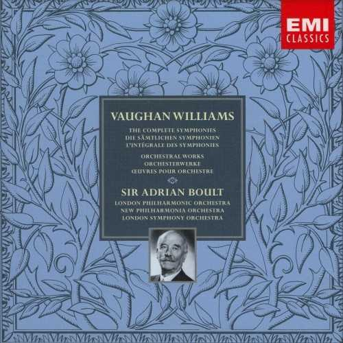Boult: Williams - The Complete Symphonies (8 CD box set)