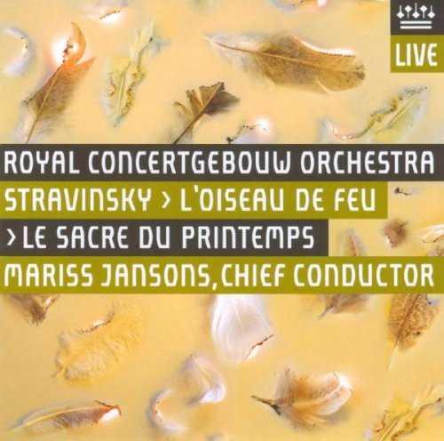 Jansons: Stravinsky - L'Oiseau de Feu, Le Sacre du Printemps (SACD, FLAC)