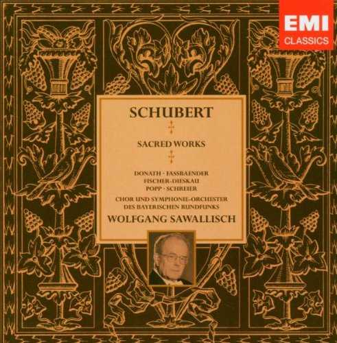 Sawallisch: Schubert - Sacred Works (7 CD box set, APE)