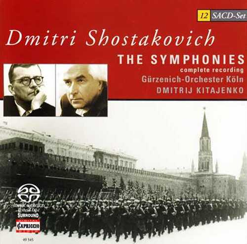 Kitayenko: Shostakovich - The Symphonies (12 SACD box set, ISO)