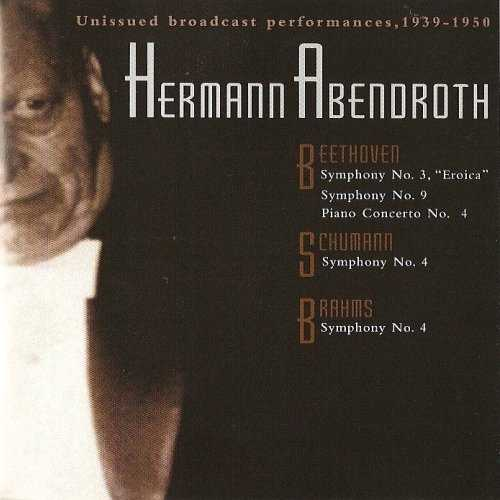Hermann Abendroth - Unissued Broadcast Performances, 1939-1950 (4 CD box set, APE)