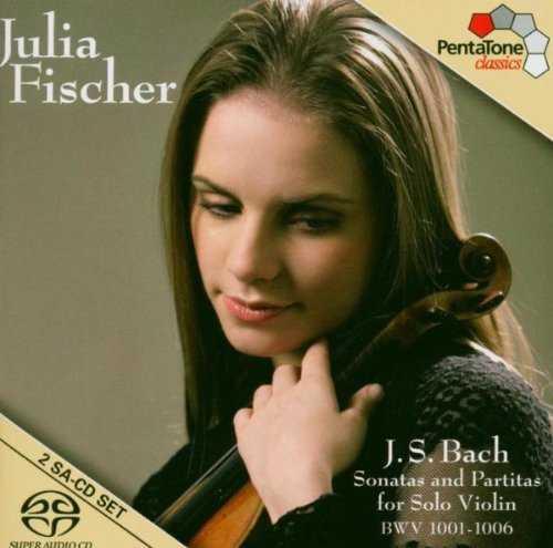 Fischer: Bach - Partitas and Sonatas for Solo Violin BWV1001-1006 (2 SACD, ISO)