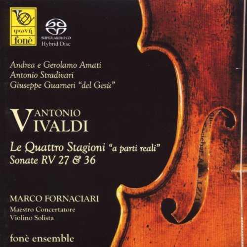 """Fornaciari: Vivaldi - Le Quattro Stagioni """"a parti reali"""" (SACD, ISO)"""