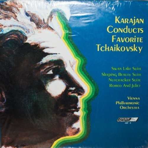Karajan Conducts Favorite Tchaikovsky (2 LP, 24/192)