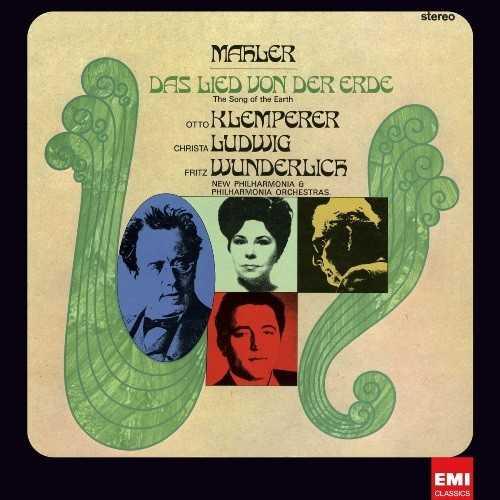 Klemperer, Ludwig, Wunderlich: Mahler - Das Lied Von Der Erde (LP, 24/192)