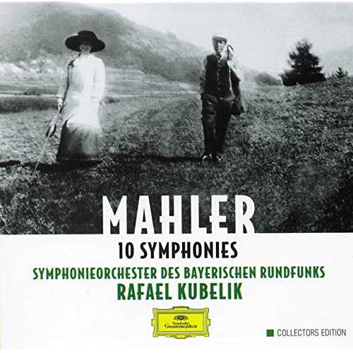 Kubelik: Mahler - 10 Symphonies (10 CD box set, FLAC)