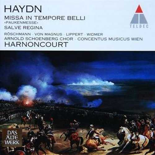 Harnoncourt: Haydn - Missa in Tempore Belli, Salve Regina (APE)