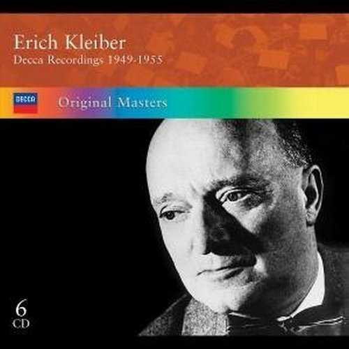 Erich Kleiber: Decca Recordings 1949-1955 (6 CD box set, APE)