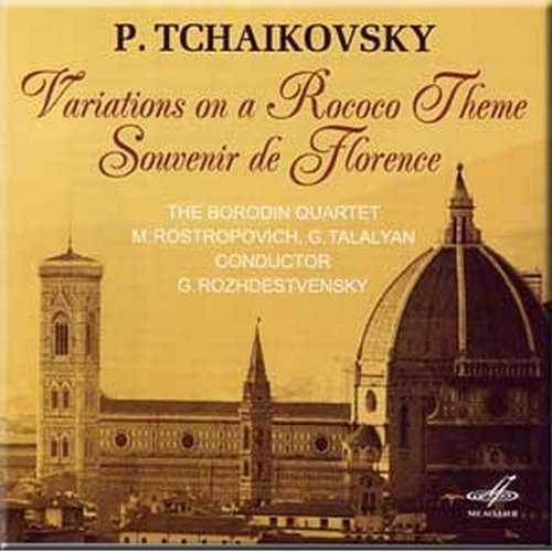 Rozhdestvensky: Tchaikovsky - Variations on a Rococo Theme, Souvenir de Florence (APE)