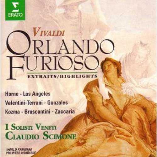 Scimone: Vivaldi - Orlando furioso (3 CD, APE)