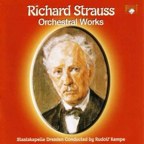 Kempe: Strauss - Orchestral Works (9 CD FLAC/APE)